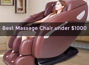 Best Massage Chairs Under $1000